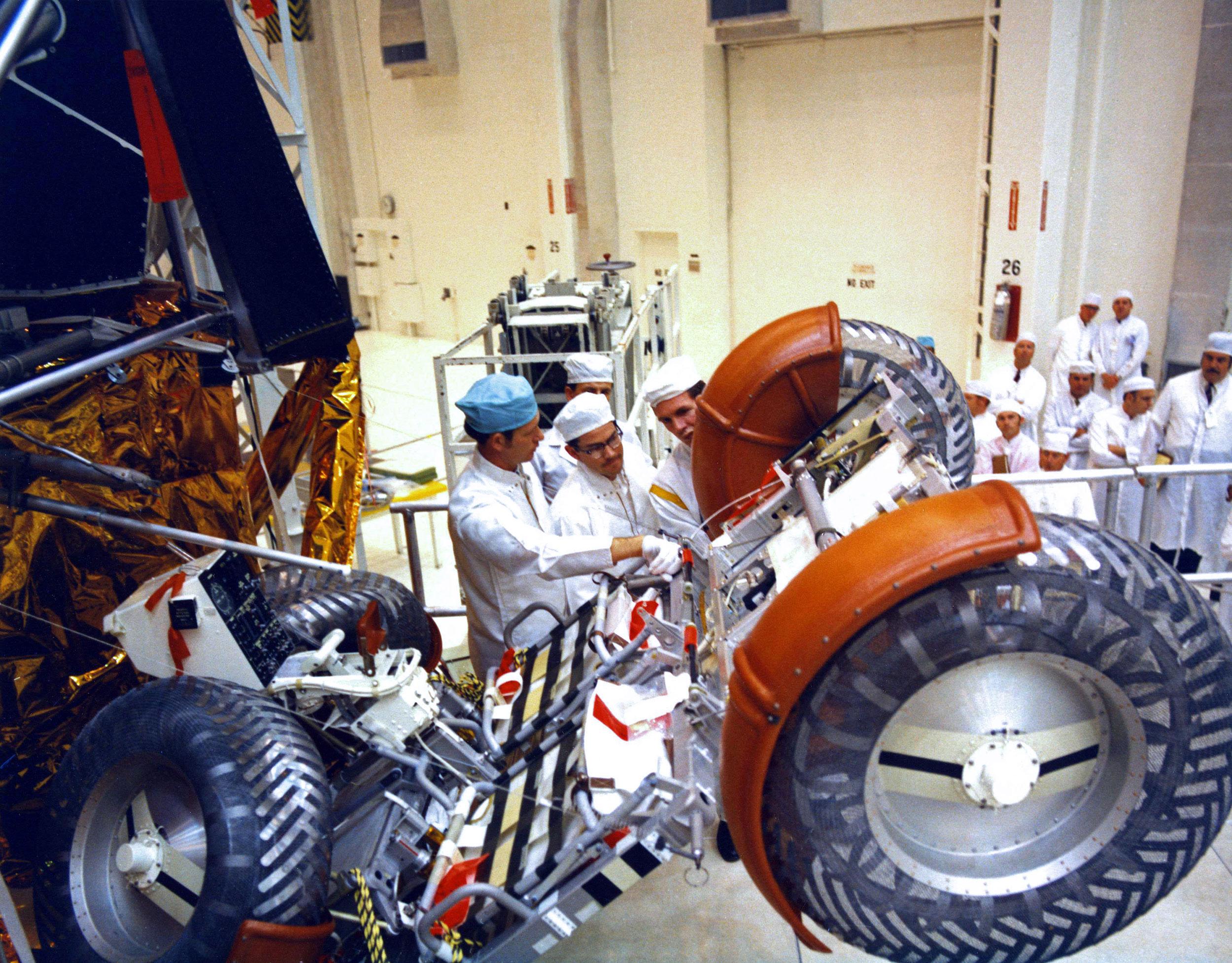 nasa rover construction - photo #16