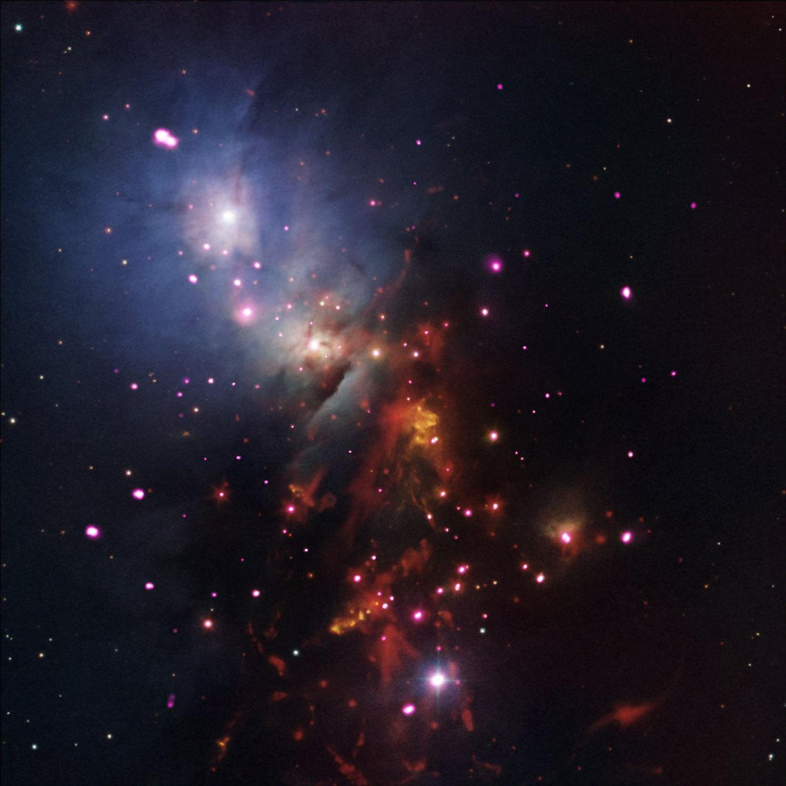 Credit: NASA/CXC/JPL-Caltech/NOAO/DSS