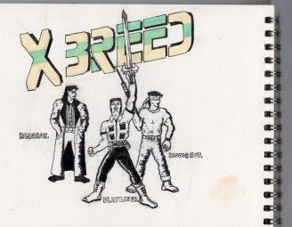 X Breed are better than the X men anf have better names.
