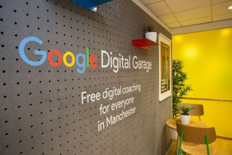 Google Digital Garage in Manchester