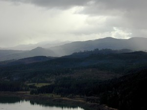 View from hikes, Cottage Grove, OR