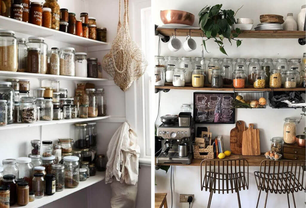 you need wall cabinets in your kitchen to store all your unsightly necessities.