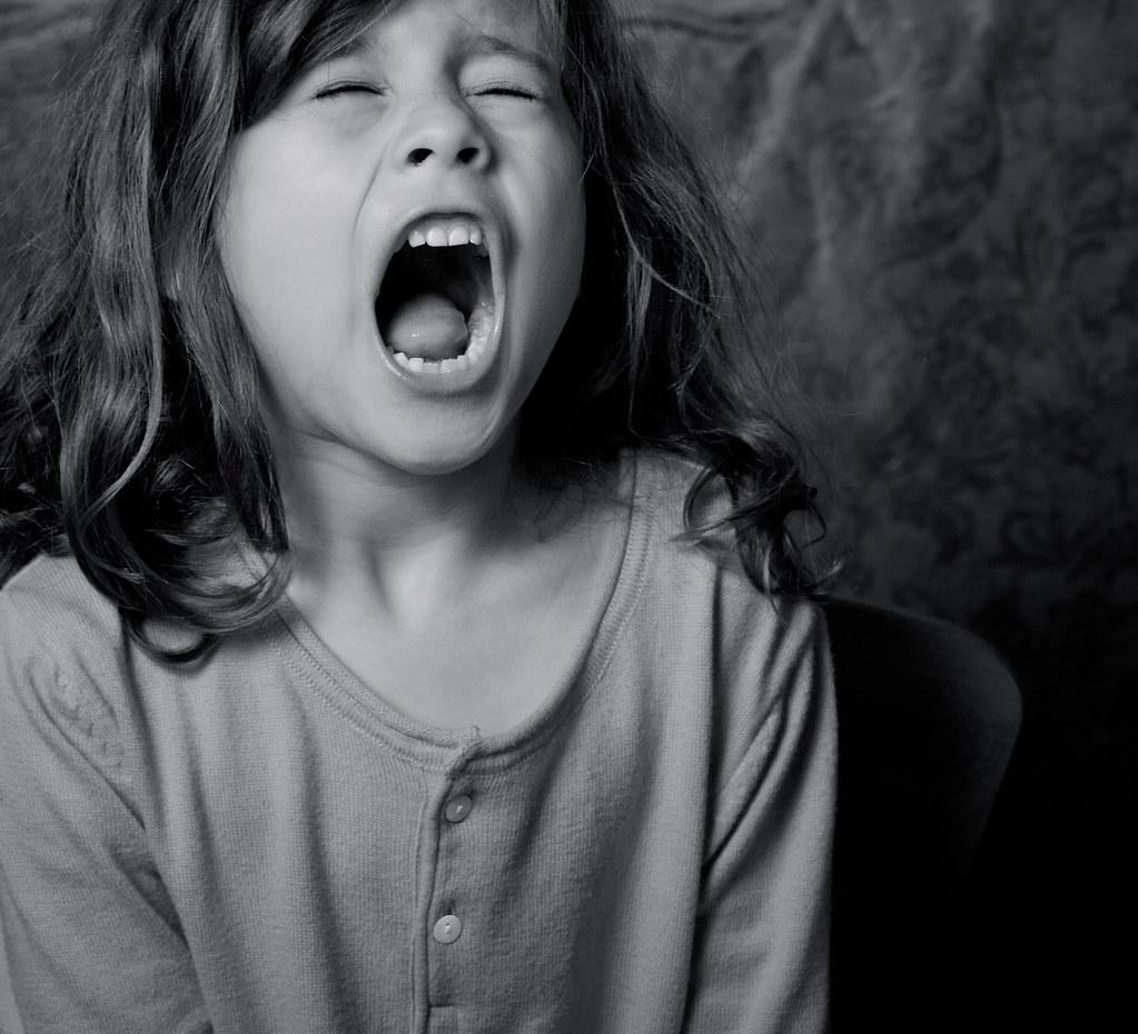 Yelling girl