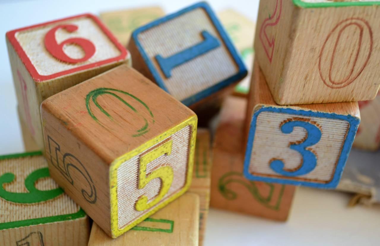 childrens wooden blocks