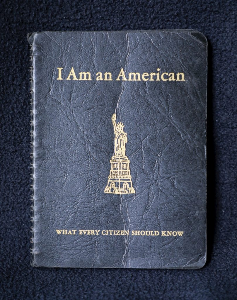 book - I am an American