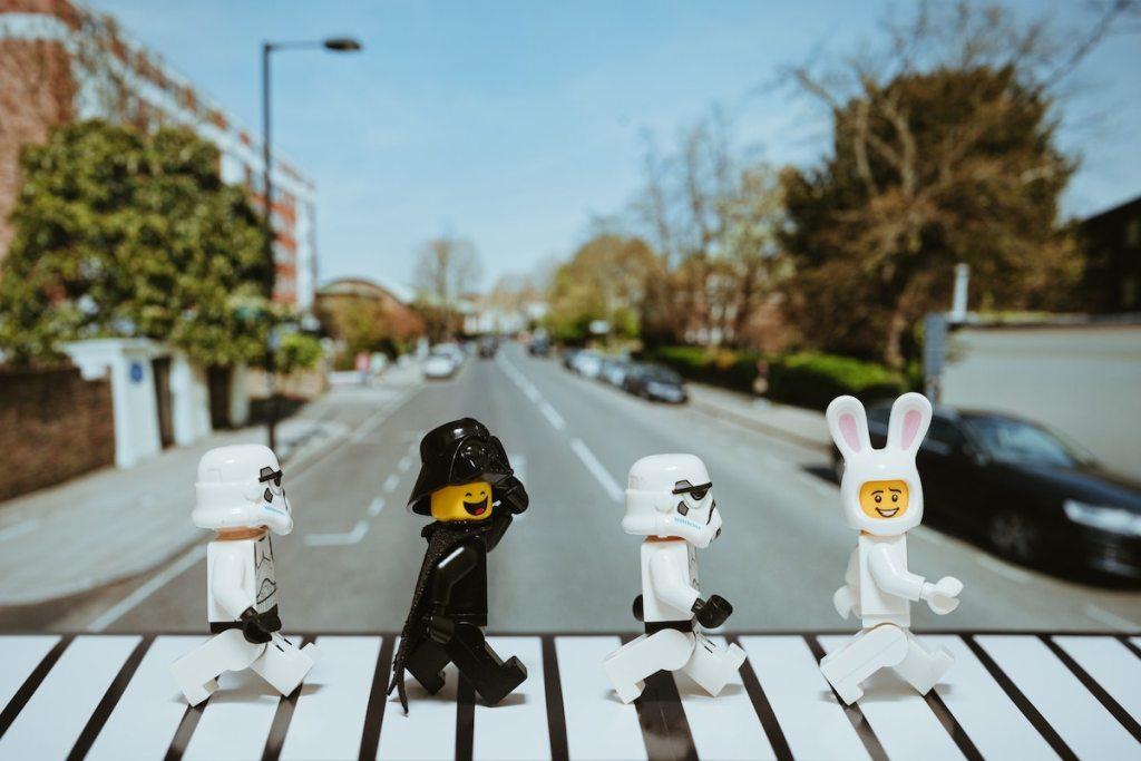 Star Wars x Beatles x Abbey Rd