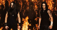 Satyricon black metal band picture