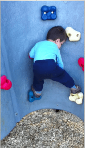 nephewclimbing