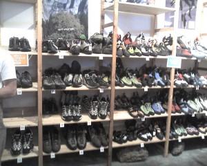 Shoe racks by size