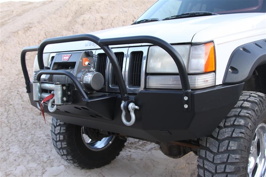 Jeep Brush Warn Guard Wj