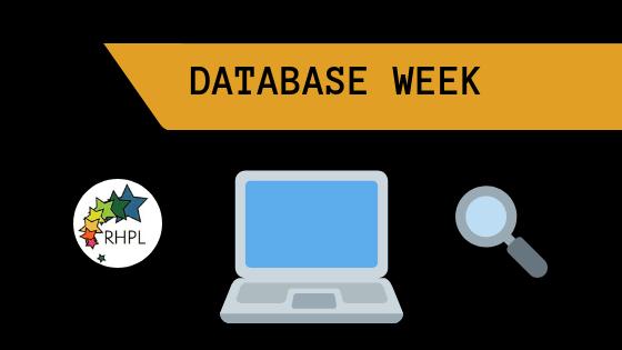 It's Database Week!