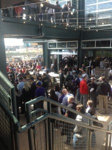 Staircase - The Rooftop - Coors Field