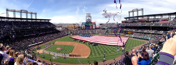 Opening Day Pano