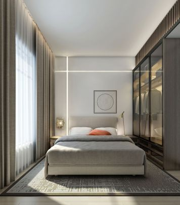 Cool modern bedroom design ideas 24