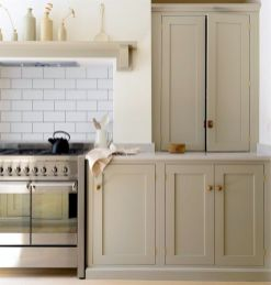 Rustic And Classic Wooden Kitchen Cabinet 22