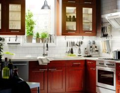 Rustic And Classic Wooden Kitchen Cabinet 28