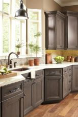 Rustic And Classic Wooden Kitchen Cabinet 33