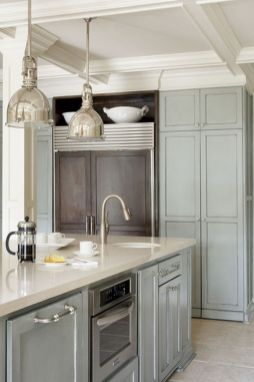 Rustic And Classic Wooden Kitchen Cabinet 4