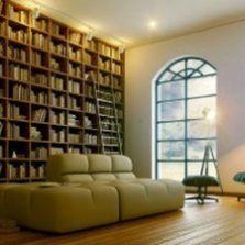 Home Library Design and Decorations Ideas 1