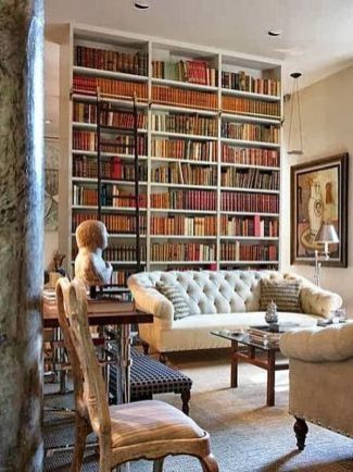 Home Library Design and Decorations Ideas 13