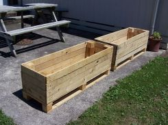 Amazing Creative Wood Pallet Garden Project 31