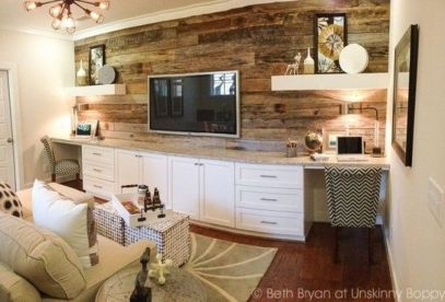 Artistic Pallet, Peel and Stick Wood Wall Design and Decorations 29