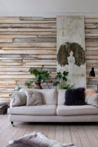 Artistic Pallet, Peel and Stick Wood Wall Design and Decorations 61