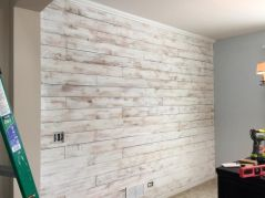Artistic Pallet, Peel and Stick Wood Wall Design and Decorations 67