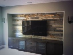 Artistic Pallet, Peel and Stick Wood Wall Design and Decorations 7