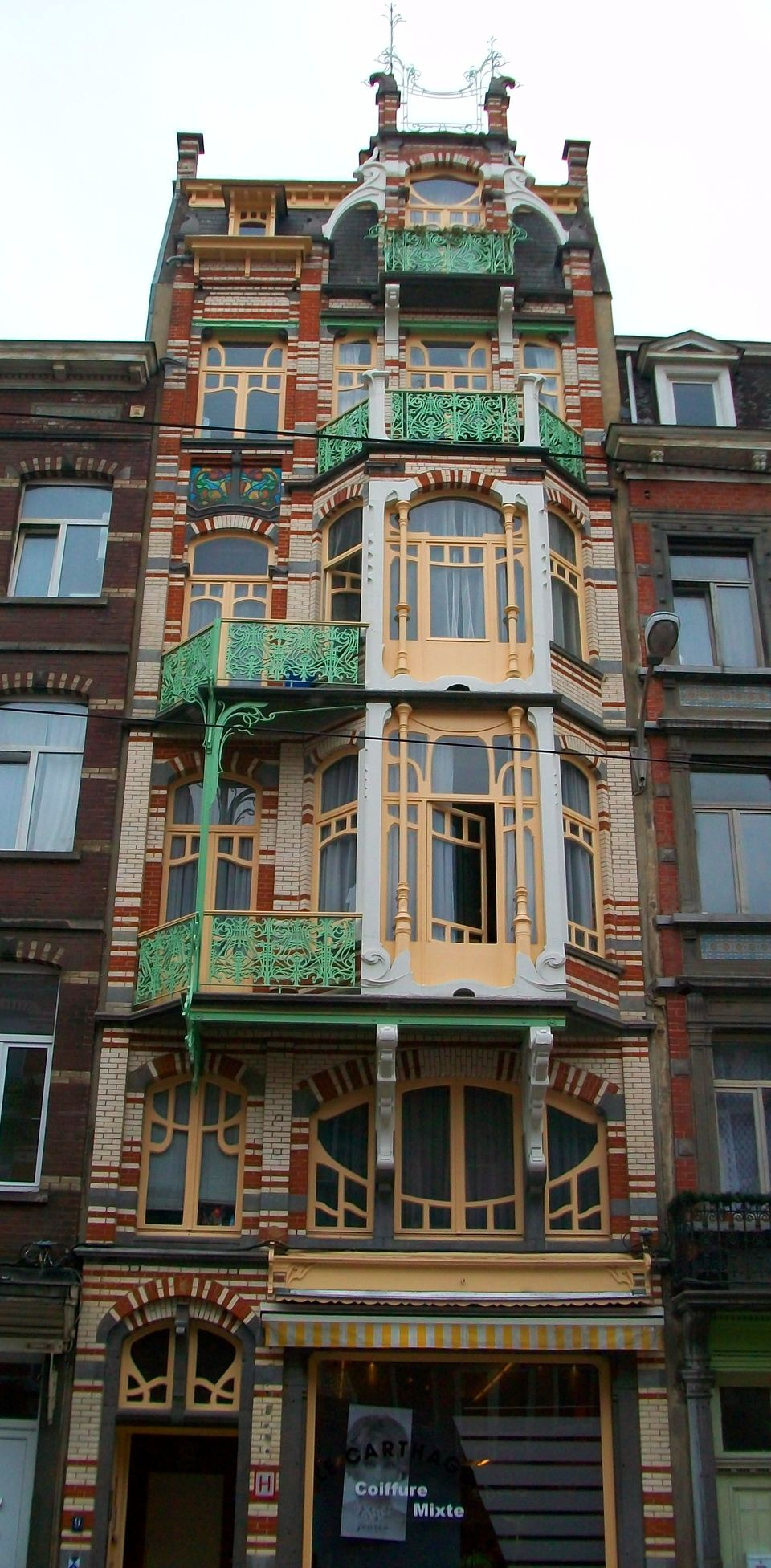Beautiful art nouveau building architecture design 17