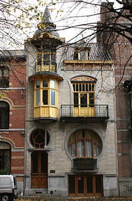 Beautiful art nouveau building architecture design 19