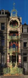 Beautiful art nouveau building architecture design 7