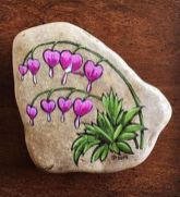 Creative diy painting rock for valentine decoration ideas 33