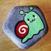 Creative diy painting rock for valentine decoration ideas 37