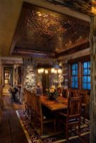 Glorious and Luxury Western Dining Room Design 22