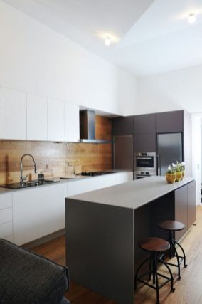 Modern and Contemporary Kitchen Cabinets Design Ideas 52