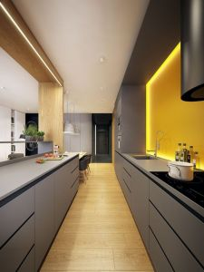 Modern and Contemporary Kitchen Cabinets Design Ideas 6