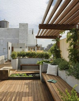 Amazing Rooftop Porch and Balcony Inspirations 41