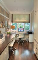 Awesome Built In Cabinet and Desk for Home Office Inspirations 32