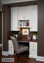 Awesome Built In Cabinet and Desk for Home Office Inspirations 9
