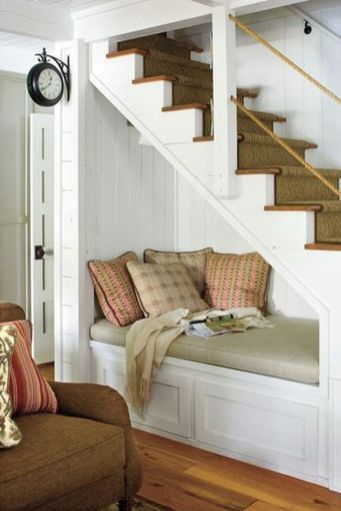 Awesome Cool Ideas To Make Room Under Stairs 10