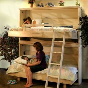 Cool Loft Bed Design Ideas for Small Room 10