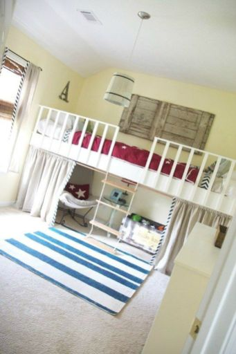 Cool Loft Bed Design Ideas for Small Room 51