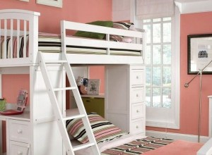 Cool Loft Bed Design Ideas for Small Room
