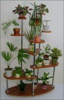 Cool Plant Stand Design Ideas for Indoor Houseplant 10