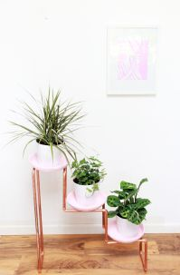 Cool Plant Stand Design Ideas for Indoor Houseplant 20