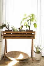 Cool Plant Stand Design Ideas for Indoor Houseplant 76