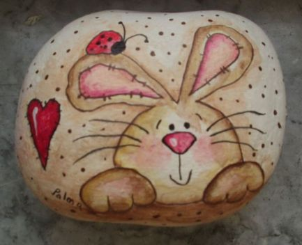 Creative DIY Easter Painted Rock Ideas 32