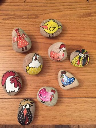 Creative DIY Easter Painted Rock Ideas 5