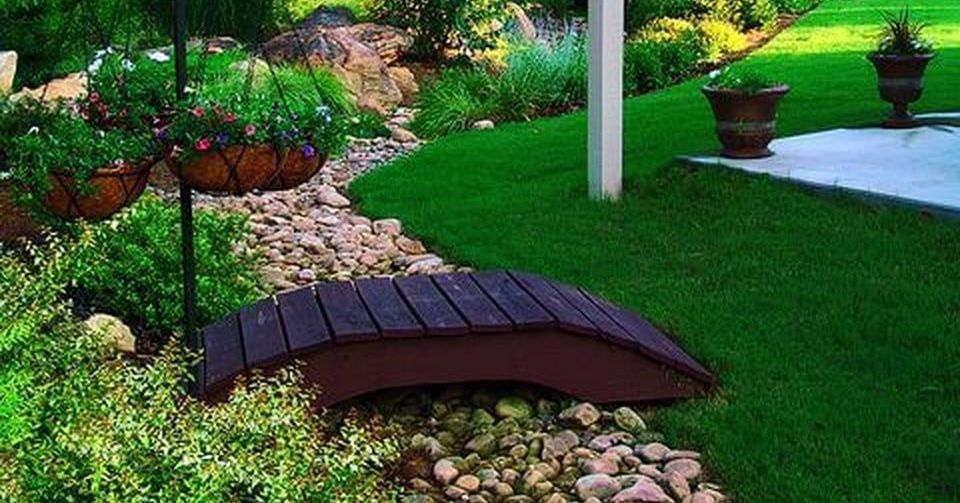 Dry Riverbed and Creek Bed Landscaping